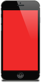 smartphone red